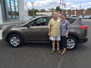 Bud and Donna McCallister-2015 RAV4