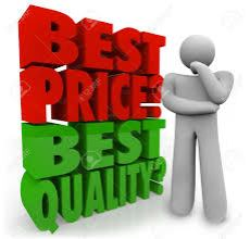 best price and best quality