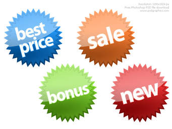 sales stickers