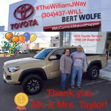 Joseph & Jill Taylor