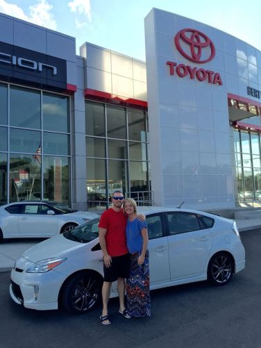 Mr. and Mrs. Ingels- 2013 Prius Persona Series